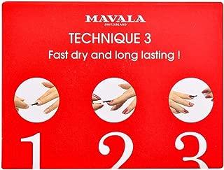 Mavala Switzerland Technique 3 - Nail Polish Base, Top And Dryer 3X5Ml, 15 ml