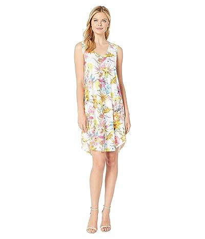 Nally & Millie Tropical Floral Print Dress (Multi) Women