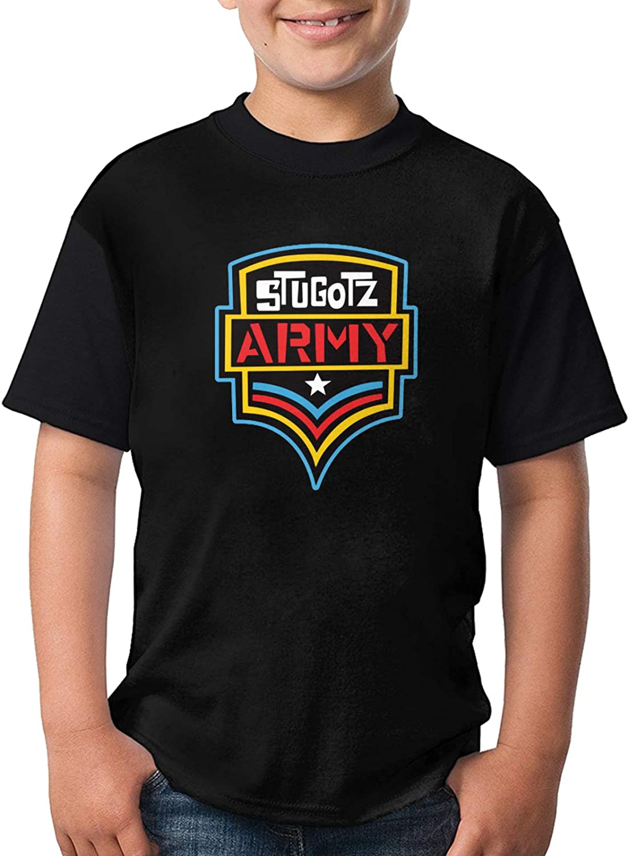 Castle Earl Stugotz Army Cute Boy Child Fashion T-Shirts Short Sleeve