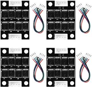 YOTINO Unidades Módulo TL-Smoother - Kit de módulo Add-On más suave Accesorios de impresora 3D Clipping Filtro controladores de motor(4 Piezas)