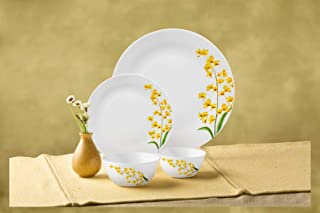 Laopala Dinner Set 44Pcs Ivory Yellow Grace