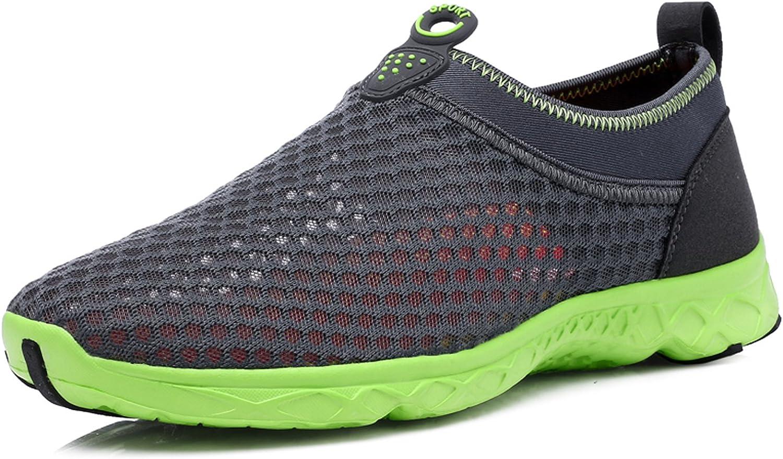 Women's Men's Water shoes Athletic Mesh Beach shoes Quick Drying Aqua Slide-in Sneakers