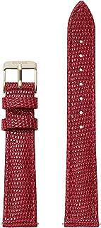 Minuit 16 mm Deep Red Lizard Leather Strap CLS382 Fits: Minuit, La Roche Petite, La Garconne & Triomphe