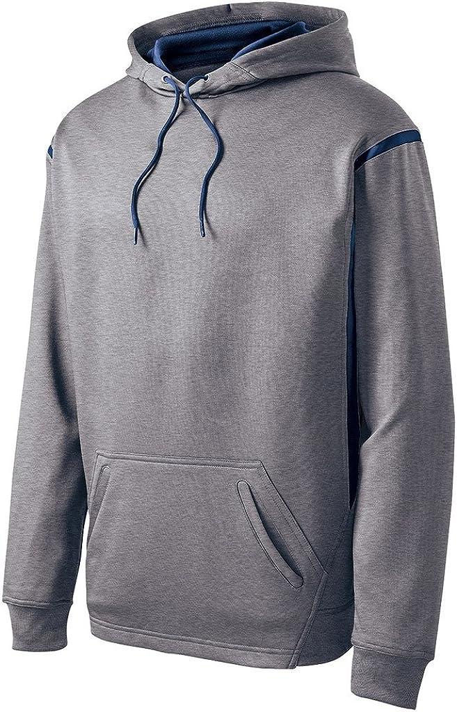 Big Mens Tech Fleece Hooded Sweatshirt