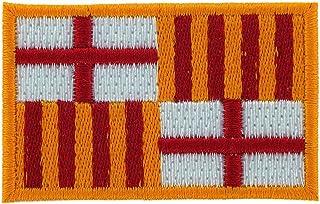 Patch Ecusson-haftowana flaga Barcelona Hiszpania do naprasowania plecak