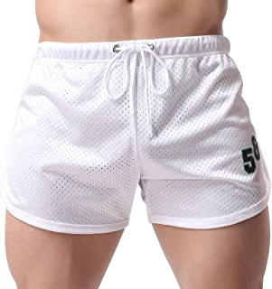 Xmiral Costume da Bagno da Uomo Swim Shorts Sport Boxer Pantaloncini Cuciture alla Moda