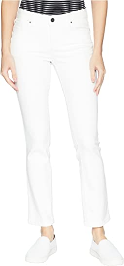 Madison Slim Ankle Cool-Max Jeans in Soft White