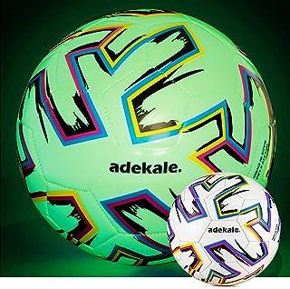 adekale Size 5 Soccer Ball,Glow in The Dark Soccer Ball,...