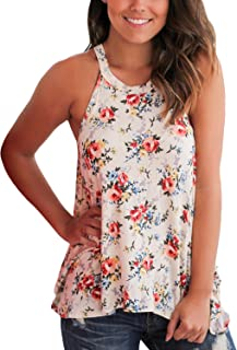 floral flowy tank top