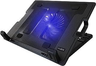 comprar comparacion Ewent EW1258 Base de refrigeración para ordenador portátil de 12 a 17 pulgadas con 2 puertos USB, 1 ventiladores, luz LED ...