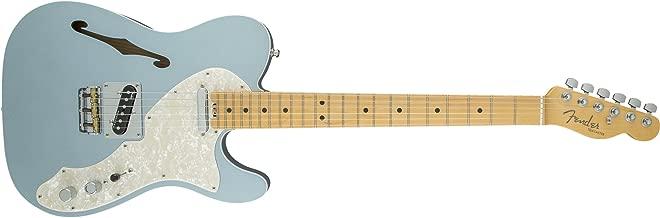 Fender American Elite Telecaster Thinline - Mystic Ice Blue