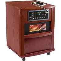 Comfort Zone Infrared Quartz Wood Cabinet Heater (Cherry)