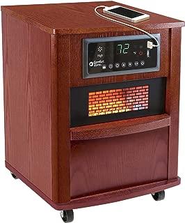 Comfort Zone CZ2062C Infrared Quartz Wood Cabinet Heater, 20