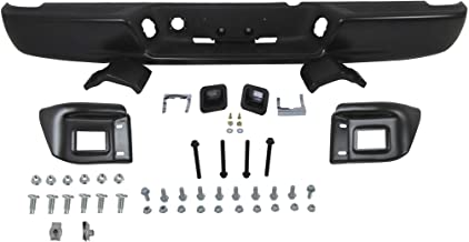 02-03 DODGE RAM 1500 (NEW STYLE) / 03-03 DODGE RAM 2500 3500 REAR STEP BUMPER BLACK POWDER COATING FULL ASSY (WITH TOP PAD, WITH BUMPER BRACKETS, WITH BUMPER SUPPORTS, WITH LICENSE BULBS & BULB BRACKETS) Powder coating is mainly used for coating of metals. It is usually used to create a hard finish that is tougher than conventional paint.