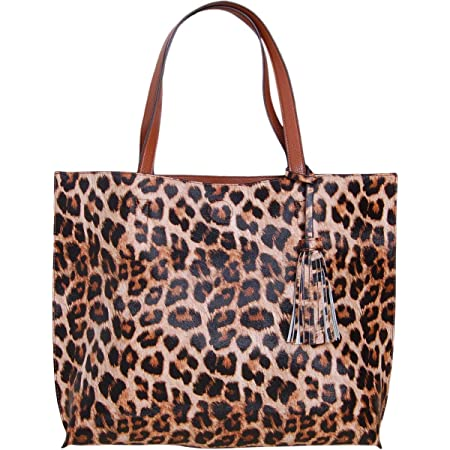 Details about  /CASUAL EVERYDAY TUMBLING REVERSIBLE TOTE SHOPPING SHOPPER SHOULDER BAG FAUX FUR