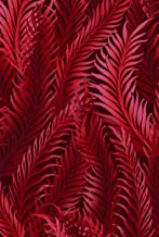 1.5 Yards Dreamweaver Blender by Jason Yenter In the Beginning 100% Cotton Quilt Fabric Scarlet Feathers 2DWA-2