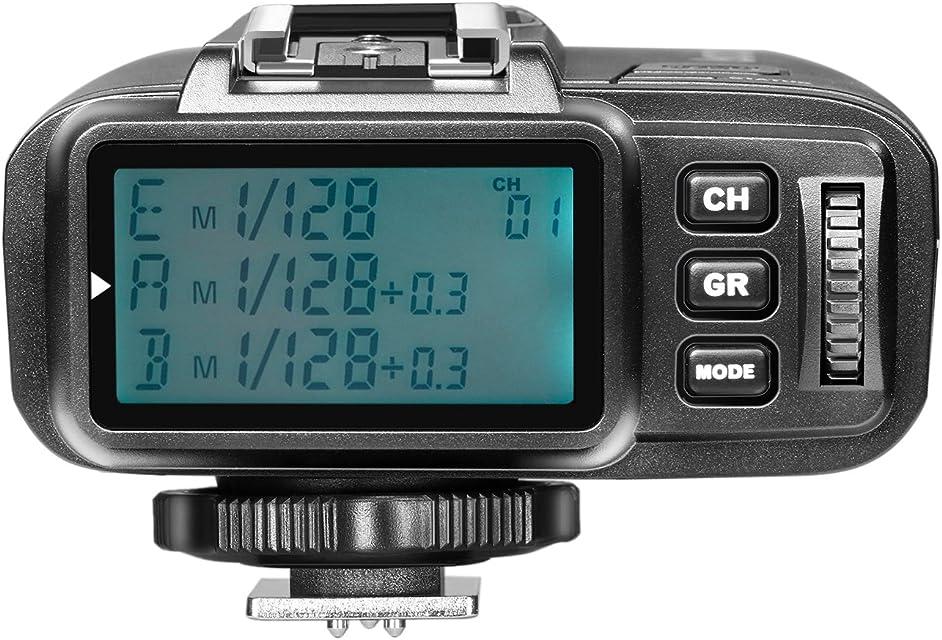 Neewer TTL 1/8000s HSS 24G Transmisor de Disparador de Flash Inalámbrico para Olympus Panasonic Cámara Digital sin Espejo y NW400o TT350o NW600BM AD600 AD600M Flash (N1T-O) etc.