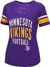 Minnesota Vikings Women's Motion V-Neck T-shirt