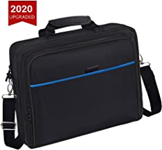 taessv PS4 Bag PS4 Carrying Travel Case Protective Shoulder Bag for PS4 Slim & PS4 Pro, Gaming Console, Controllers and Ot...