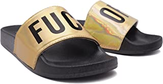 Fashion Womens Slides Casual Funny Phrase Sport Pool Slides for Women