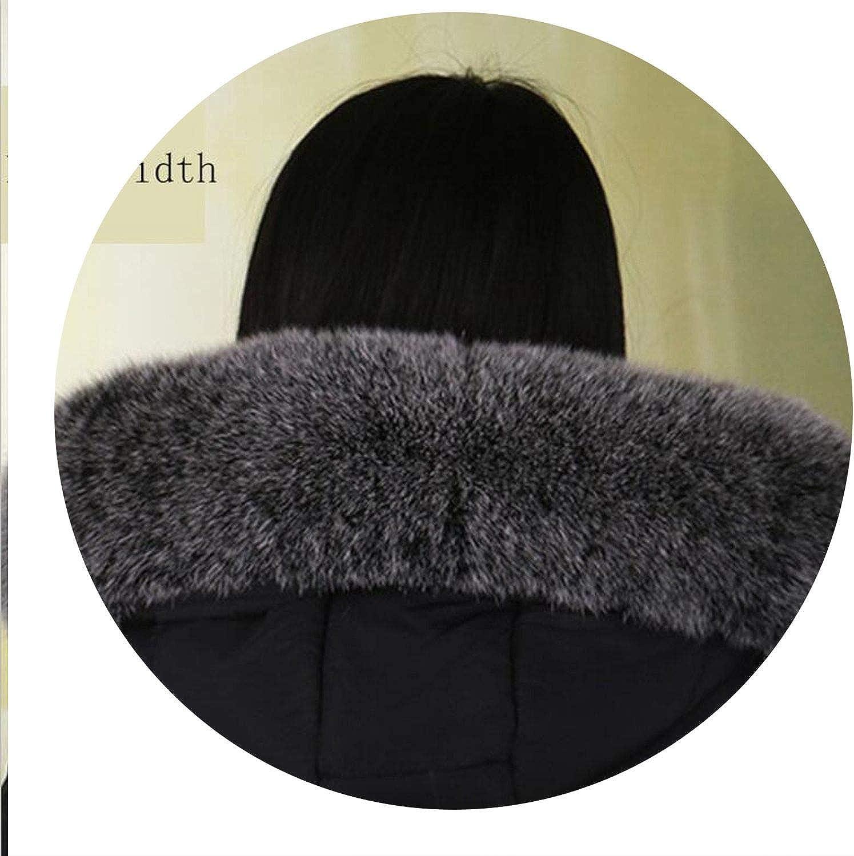 Winter Fox Fur Collar Natural Fur Collar 70cm longth Genuine Fur Scarf,14cm width