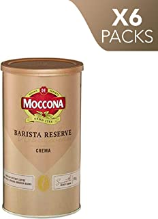 Moccona Coffee Wholebean Barista Reserve Crema (175g x 6 Packs)