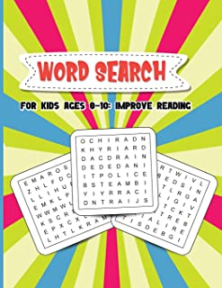 Word Search for Kids Ages 8-10: Improve Reading - Develop Reading and Vocabulary Skills of Your Children!