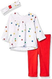Little Me Baby-Girls LCU08561N Tunic Set Long Sleeve Shirt - red