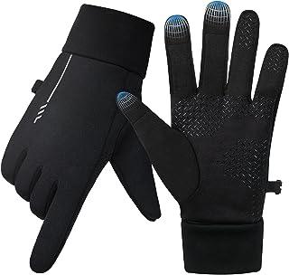 Winter Running Gloves for Men Women - MixcMax Anti-Slip...