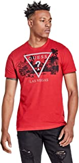 GUESS Factory Men's Las Vegas Crew Logo Graphic Tee