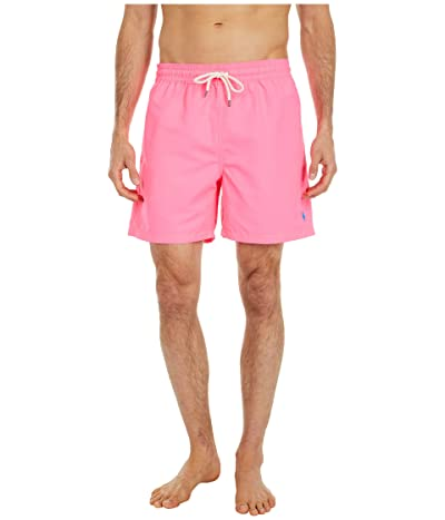 Polo Ralph Lauren Traveler Swim Trunks (Blaze Knockout Pink) Men