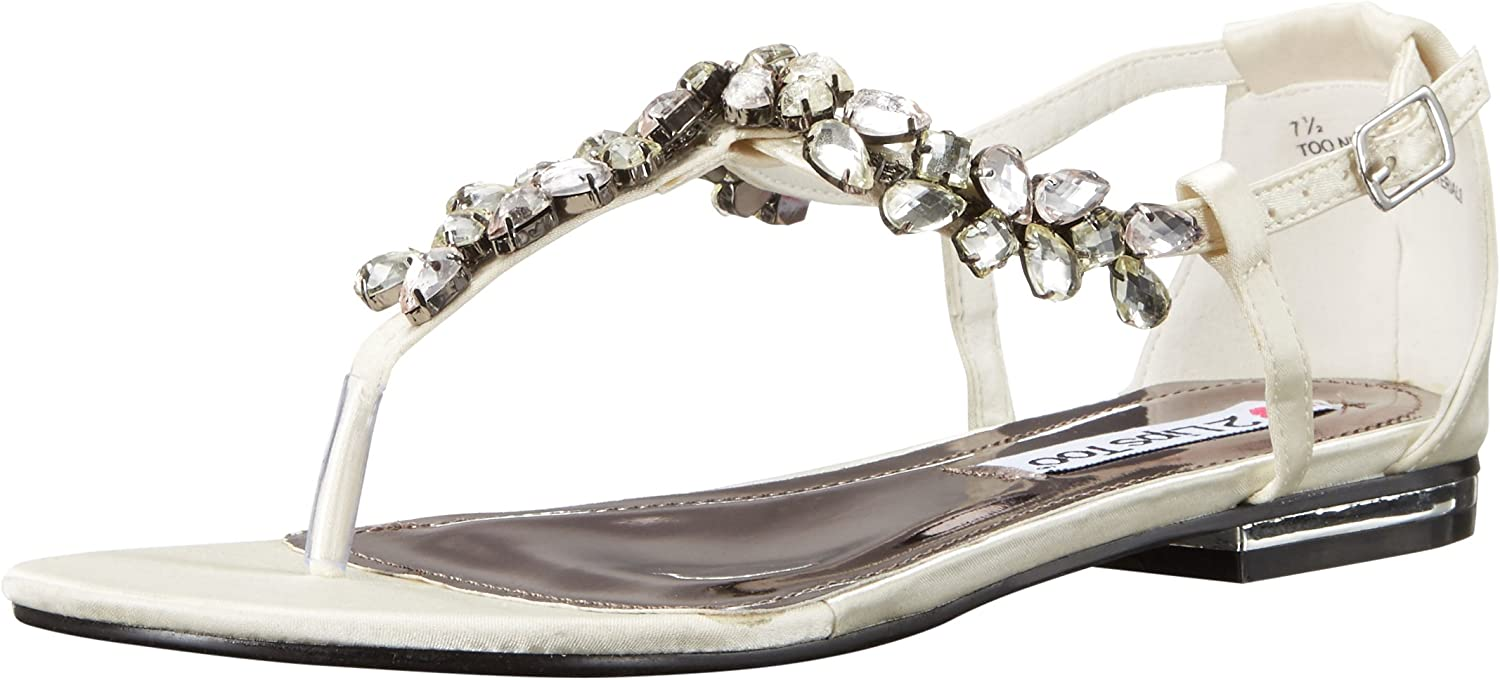 2 Lips Too Womens Too Nikita Flat Sandal