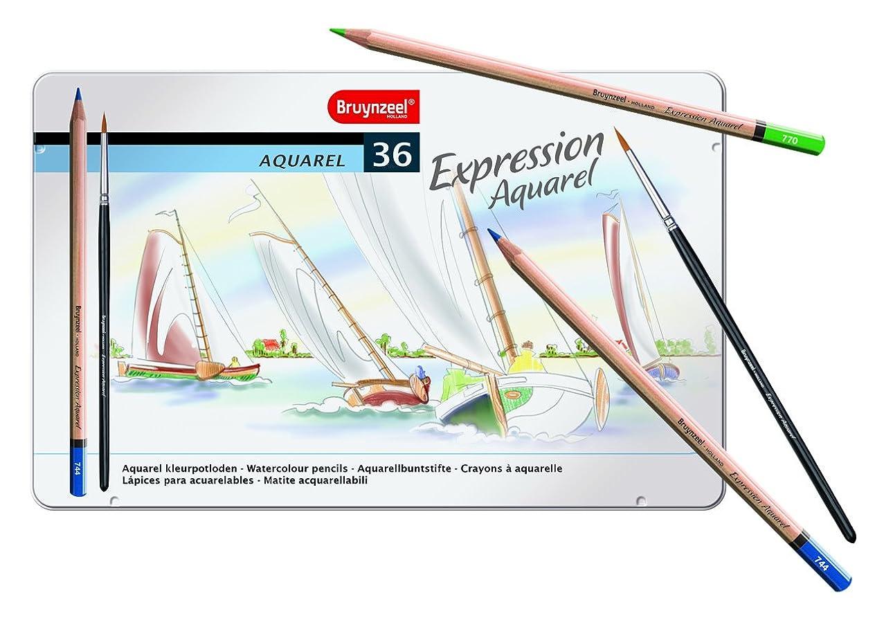 Bruynzeel Expression 36pc Watercolor Pencil Set