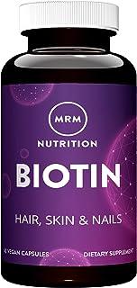 Mrm - High Potency Biotin For Hair, Skin & Nails 5 Mg. 60 Vegetarian Capsules 105313
