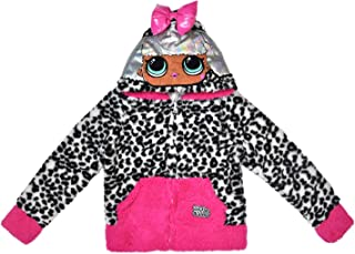 L.O.L. Surprise! Girl's Costume Hoodie Zip Up Woobie Choose: Unicorn or Diva
