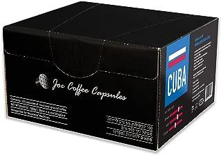 100 Espresso Capsules Nespresso Compatible Coffee, CUBA, - Espresso Pods for your Nespresso Machine - Cuban Grown Coffee, (100 Capsules)