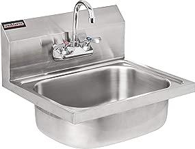 DuraSteel Stainless Steel Hand Sink with 17