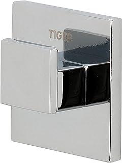 Tiger Gancho Items para Ropa y Toallas, 4 x 4 x 1.9 cm, Metal, Cromo