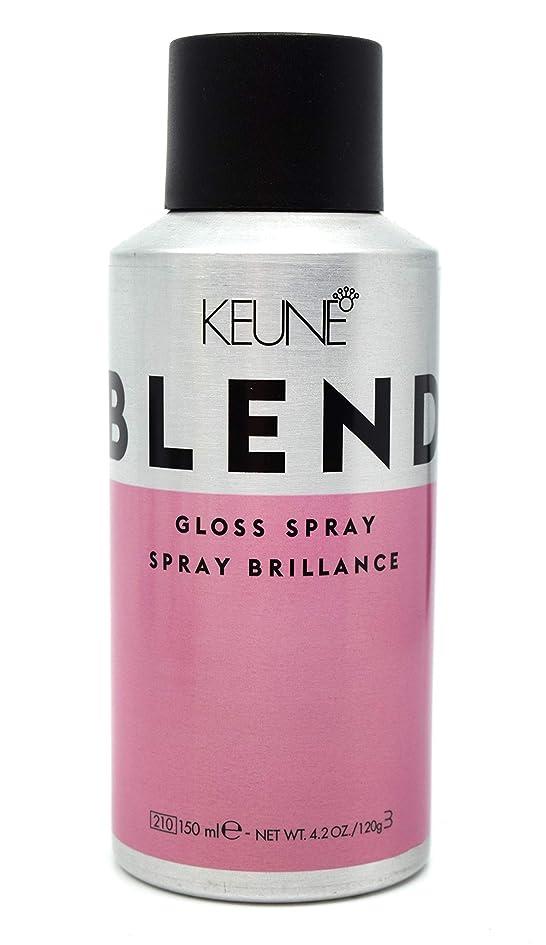 錆び代わりにを立てる趣味KEUNE Keuneブレンド - グロススプレー、4.2オンス(120グラム)