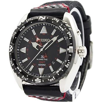 [セイコー]SEIKO 腕時計 PROSPEXキネティックGMT 100M SUN049P2 キネティック メンズ [並行輸入品]