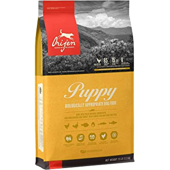 ORIJEN Puppy High-Protein, Grain-Free, Premium Quality Meat, Dry Dog Food