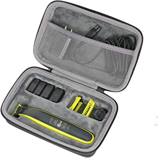co2crea Hard Travel Case for Philips Norelco OneBlade QP2520/90 / QP2630/70 / QP2520/72 Face Body hybrid electric trimmer ...