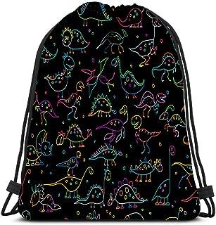 The Scary Leopard Sport Gym Sack Drawstring Backpack Bag