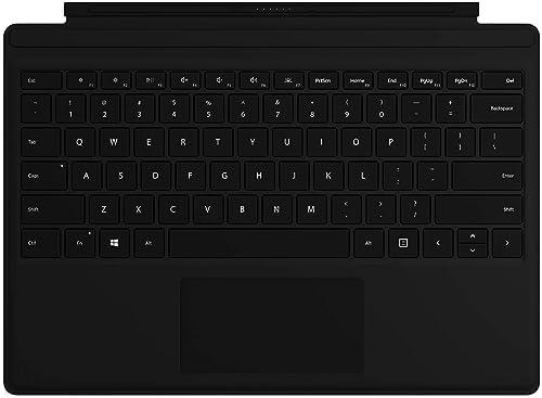 Microsoft Clavier Type Cover pour Surface Pro - compatible Surface Pro 3/4/5/6/7 (rétroéclairage LED, pavé tactile en...