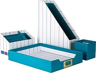 $29 » Erin Condren Designer Desk Organizer Set (4 Pieces) - Retro Stripes