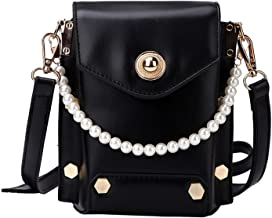 Women'S Shoulder Bag Simple Metaldecorative Button Handbag Woman Pu Mini Messenger Crossbody Bag