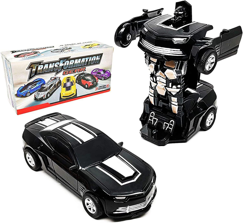 CYKT Jouet de d/éformation Voiture-Robot Voiture Jouet 2 en 1 d/éformation Voiture-Friction Voiture Camion Jouet