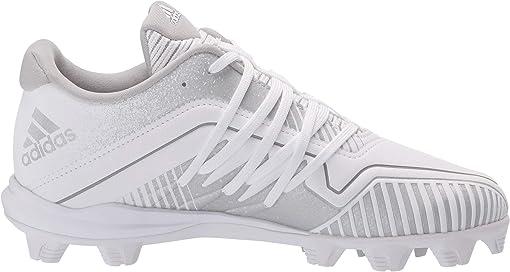 White/Silver Metallic/Grey