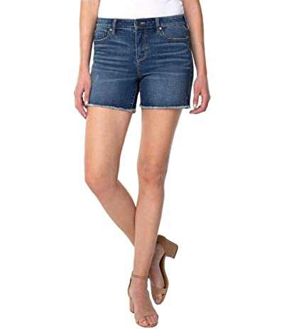 Liverpool Vickie Fray Hem Shorts in Jackson Women