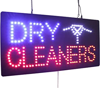 dry cleaning window signs
